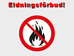 Eldningsförbud